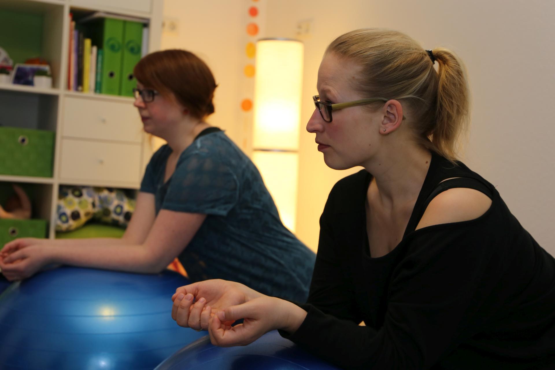Eindrücke aus einem Rückbildungs-Kurs von Angelika Kern